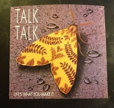 Talk Talk Life's What You Make It 7� 45 Picture Sleeves Only