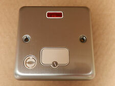 5x MK Albany Plus 13A Fused Connection Unit Spur with Flex Outlet Neon K978 MCO