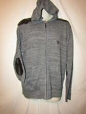 mens rocawear sweater jacket hoodie M nwt $68 gray