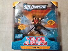 Young Justice ROBIN Figure DC Universe Classics Signed by Wil Wheaton