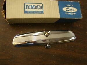 NOS OEM Ford 1965 1966 Galaxie 500 Loop Mount Rear View Mirror