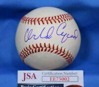 Orlando Cepeda Jsa Autograph National League Onl Hand Signed Baseball