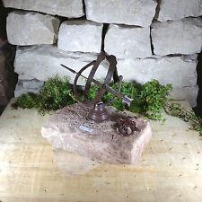 Garden Path Water Element Pond Natural Stone Buntsandstein Sundial Lizard Alden