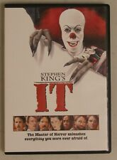 It - Stephen King's (DVD, 1990 version) with Tim Curry