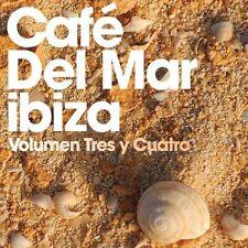 Cafe Del Mar Volumen Tres Y Cuatro JOSE PADILLA CHICANE ALEX NERI PACO FERNANDEZ