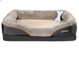 Memory Foam Dog Bed Joyelf  Large Orthopedic & Sofa Removable Washable Cover New
