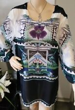 BNWT RPP $149.95 Size 16-18 SEVEN SISTERS BLOUSE TUNIC top 116cm bust NEW