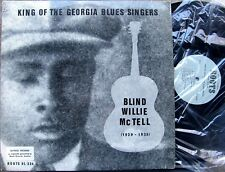 PREWAR BLUES 12-STRING GUITAR LP: BLIND WILLIE McTELL Roots Limited Ed. RL-324