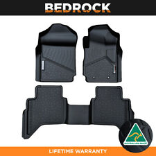 BEDROCK Floor Liners For Ford Ranger PX | PX2 | PX3 2012-New 3D Floor Mats 3PC