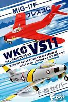 F-toys Wing Kit Collection VS11 Semi-Finished 1/144 scale kit 1 BOX 10 kits Set