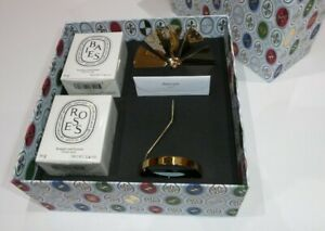 Diptyque Marvellous Carousel Set with 2 X 70g Scented Candles New Baies + Rose