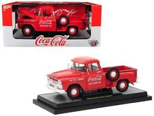 M2 Machines 1:24 Coca-Cola 1958 Chevrolet Apache Stepside Diecast Car 50300-RW01