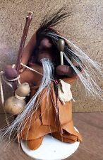 """Micmac Mi'kmaq LITTLE PEOPLE Storyteller """"Mikmwesuk"""" Native American Lore Maine"""