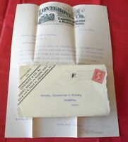 Philadelphia PA Lovegroving Co Machine Tools 1902 Advertising Cover & Letterhead