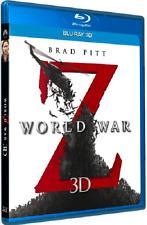 World War Z 3D + 2D Extended Cut Blu Ray (Region Free)