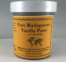 Madagascar Bourbon Vanilla Bean Paste 100% Pure - 4 oz - Nomad Spice Co.