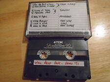 VERY RARE Will Reid Dick producer DEMO CASSETTE TAPE metal MOTORHEAD Saxon LION