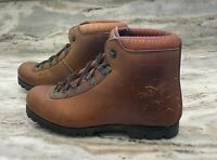 Dunham Tyroleans Leather Hiking Boots Made in Italy Size 6.5 Men's