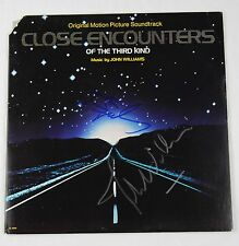 John Williams & Steven Spielberg Close Encounters Signed Autograph Album Cover