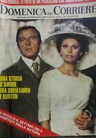DOMENICA DEL CORRIERE N.34 1973 SOPHIA LOREN