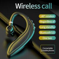 Wireless Bluetooth 5.0 Headset Earbud Stereo Headphone Earphone Sport Handfree