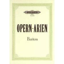 Opernarien - 30 Bariton Arien. Gesang Mittel, Bariton, Klavier Musiknoten 4234