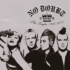 NO DOUBT - THE SINGLES 1992 - 2003 CD VGC