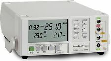 Peaktech 2510 calidad-analizador/Power Analyzer con rs-232 C interfaz