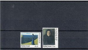 Faroe Foroyar 1996 MNH Europa Famous Women Paintings Samal Joensen-Mikines Art