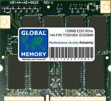 128Mb 60ns 144-Pin High Profile Edo Sodimm Memory Ram For Toshiba Laptops