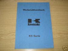 Werkstatthandbuch Kawasaki KS 125 A1, deutsche Übersetzung Stand 1973