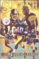 1996 Kordell Stewart SLASH Pittsburgh Steelers Original Starline Poster OOP