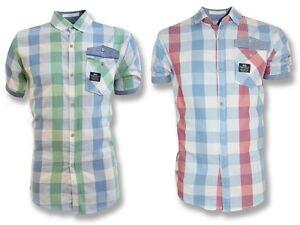 Crosshatch Lightweight Summer Shirt Casual Short Sleeved Cotton T-Shirt Cheapest
