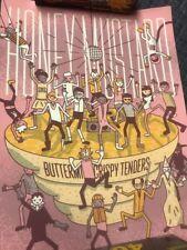 McDonald's Poster Rick Morty Szechuan Sauce Promo Honey Mustard 753/1000 rare