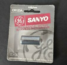 SANYO Photographic Lithium Battery CR123A