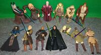 Star Wars JEDI & Darth Sidious Lot - Luke Skywalker, SHAAK TI, Fi Ek Sirch -Used