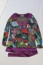 Z2300 Desigual  17T2611 Shirt M  bunt, Herstellerfarbnummer: 3078 Mit Motiv