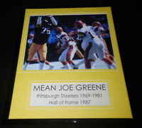 Mean Joe Greene Steelers Framed 11x14 Photo Display