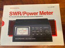 Radio Shack Micronta SWR / Power meter 21-524 NOS open box