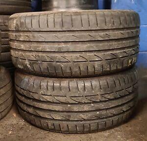 X2 MatchingPairOf 245/40/18 Bridgestone Potenza S001 97Y Tyres
