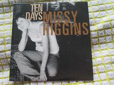 Missy Higgins – Ten Days. Eleven: A Music Company PR015409 PROMO UK CD Single