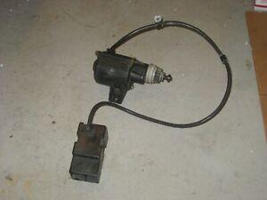 115V Electric Starter - Snow Blower Thrower - Works Good