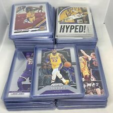 110x CARD LOT LEBRON JAMES 2019-20 PANINI PRIZM OPTIC MOSAIC CHRONICLES LAKERS