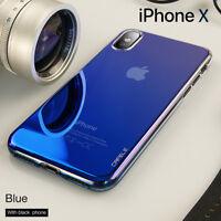 Miroir Glacier Housse Etui Coque Bumper Antichocs Case Cover Apple iPhone X