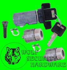 Kodiak Topkick 91-02 Ignition Key Switch Cylinder Tumbler Door Lock Set 2 Keys