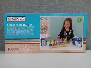 NEW KidKraft Children's Menorah Set - 10 Piece Ages 3+