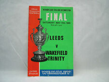 Leeds Rhinos Rugby League Programmes (1960s)