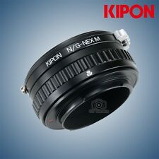 Kipon Adapter with Focus Helicoid for Nikon G Mount Lens to Sony E NEX A7R2 Came