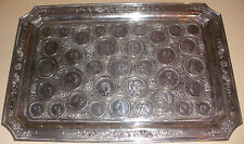Rare Exquisite Antique silver tray Ge