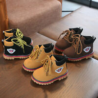 Children Baby Warm Boys Girls Martin Sneaker Boots Kids Baby Casual Snow Shoes